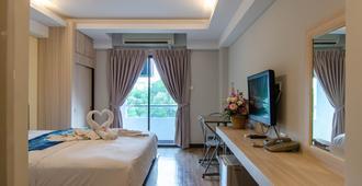 塔拉湖大酒店 - 曼谷 - 睡房