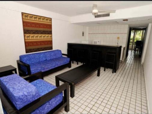 别墅帕莱索酒店 - 伊斯塔帕 - 客厅