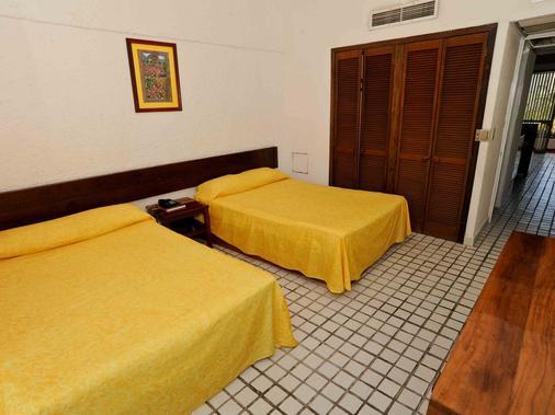 别墅帕莱索酒店 - 伊斯塔帕 - 睡房