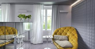 万达都会度假村 - 设计酒店系列 - 卢布尔雅那 - 客厅
