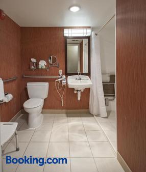 华盛顿中央/白宫假日酒店 - 华盛顿 - 浴室