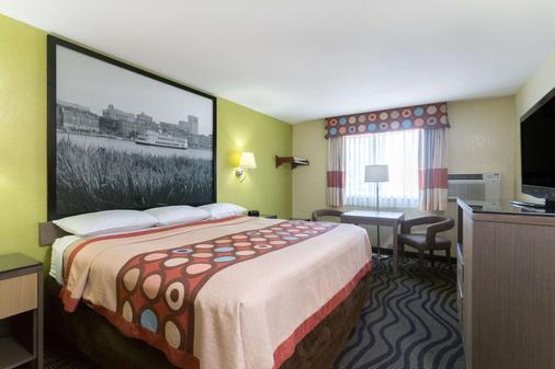 布伦瑞克速8酒店 - 布伦瑞克 - 睡房