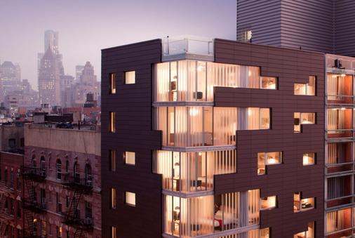 诺里顿酒店 - 纽约 - 建筑