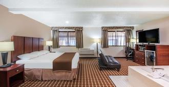 哈林根速8酒店 - 哈林根 - 睡房