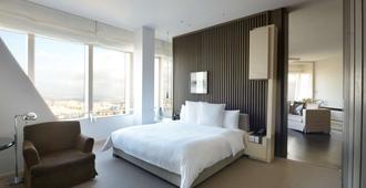 上海柏悦酒店 - 上海 - 睡房
