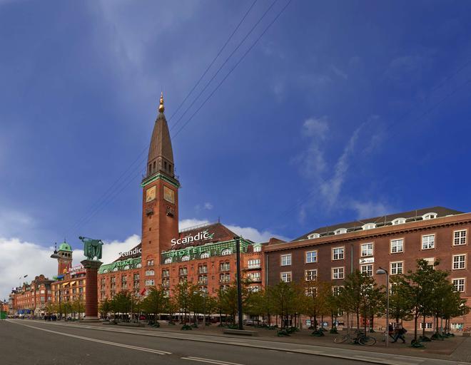 斯堪迪克皇宫酒店 - 哥本哈根 - 建筑