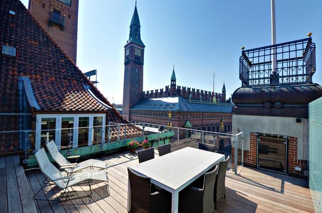 斯堪迪克皇宫酒店 - 哥本哈根 - 阳台