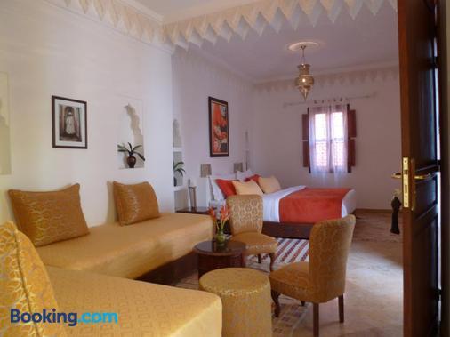 里亚德摩洛哥传统庭院住宅 - 马拉喀什 - 睡房
