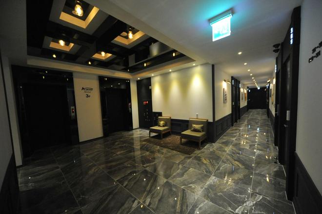 釜山站杏仁酒店 - 釜山 - 门厅