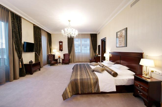 德文酒店 - 布拉迪斯拉发 - 睡房