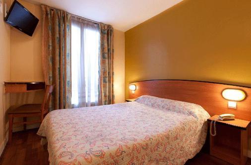 芙蓉共和酒店 - 巴黎 - 睡房