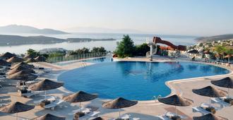 德德曼博德鲁姆俱乐部酒店 - 博德鲁姆 - 游泳池