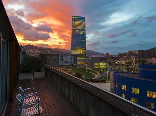 毕尔巴鄂圣主大酒店 - 毕尔巴鄂 - 阳台