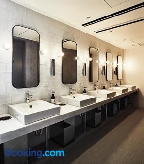 京都千禧一代胶囊旅馆 - 京都 - 浴室