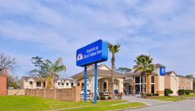 市中心医疗中心美洲最佳价值酒店 - 休斯顿 - 建筑