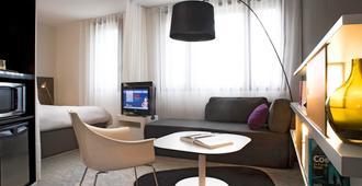 佩皮尼昂中央诺富特套房酒店 - 佩皮尼昂 - 客厅