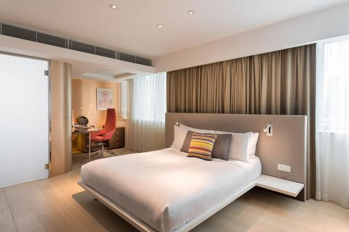 Ovolo中环亚毕诺道2号酒店 - 香港 - 睡房