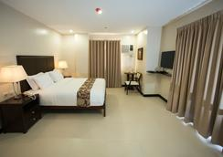 缅因酒店及套房 - 宿务 - 睡房