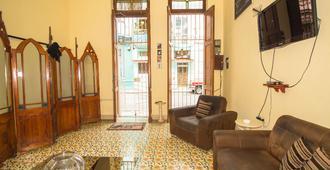 哈瓦那中央绿屋酒店 - 哈瓦那 - 客厅