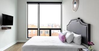 住宿阿弗雷德艾斯阿什兰德酒店 - 芝加哥 - 睡房