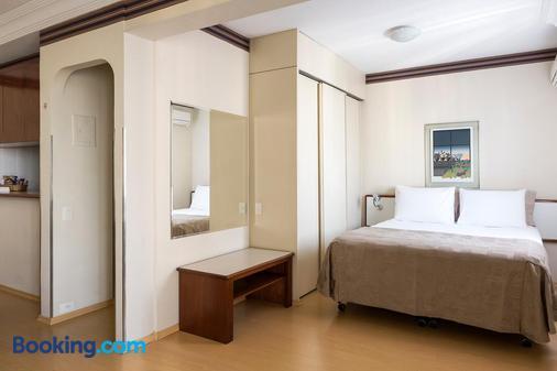中央公园花园套房公寓式酒店 - 圣保罗 - 睡房