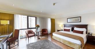 埃斯特拉拉丰塔纳酒店 - 波哥大 - 睡房