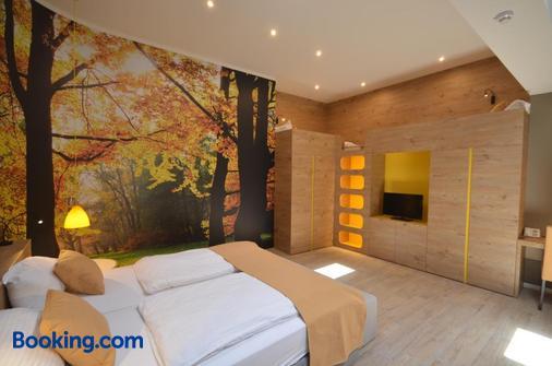伊莫尼克酒店 - 卢布尔雅那 - 睡房