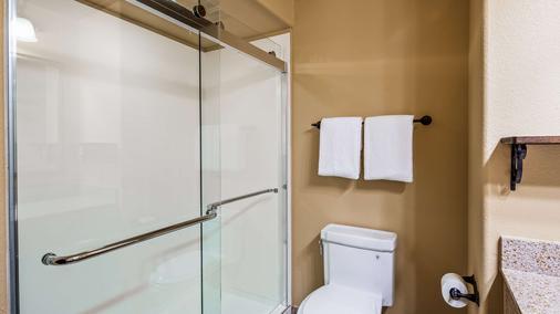圣伊西德罗旅馆贝斯特韦斯特酒店 - 拉雷多 - 浴室