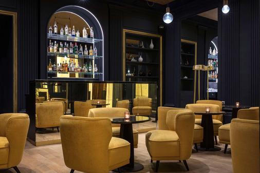 贝斯特韦斯特隆赛雷剧院酒店 - 巴黎 - 酒吧