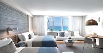 南海滩1号酒店 - 迈阿密海滩 - 睡房
