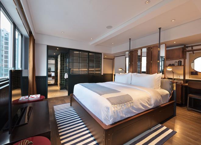 芬名酒店 - 香港 - 睡房