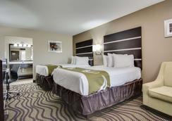 雅典大学区品质套房酒店 - 阿森斯 - 睡房
