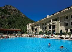 朱利安森林套房酒店 - 伊丘美勒 - 游泳池