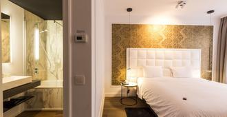鲁本斯大广场酒店 - 安特卫普 - 睡房