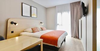 城市布罗阿酒店 - 布鲁瓦 - 睡房
