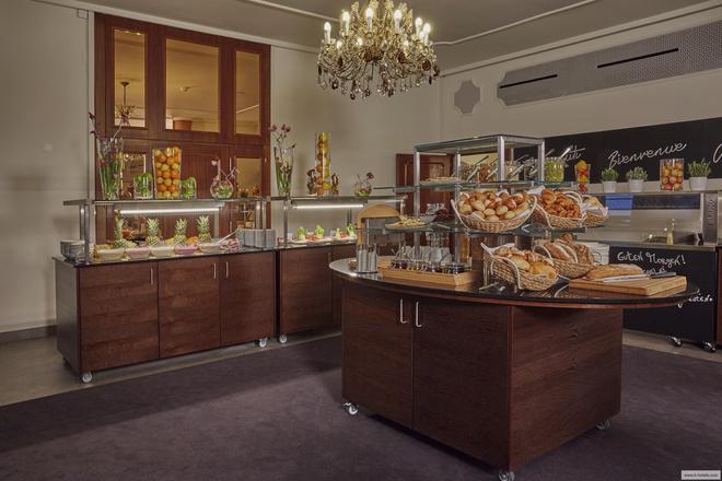 帕尔马奥拉克酒店 - 洛迦诺 - 自助餐
