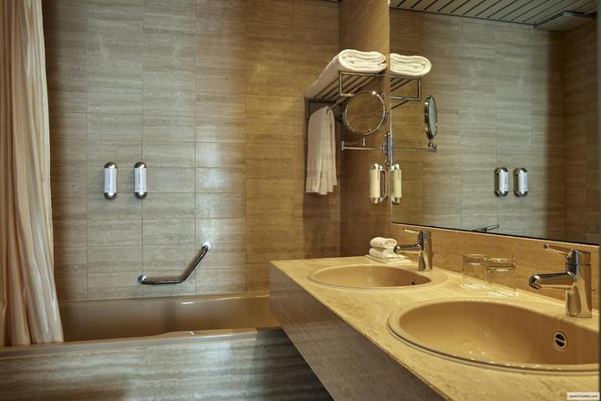 帕尔马奥拉克酒店 - 洛迦诺 - 浴室