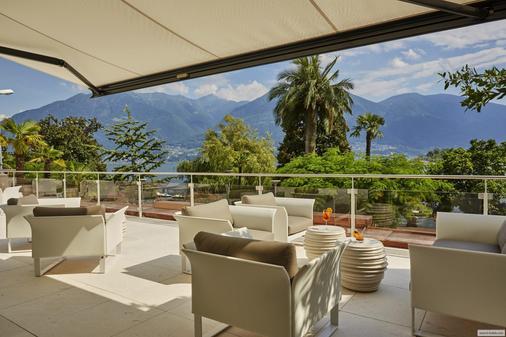 帕尔马奥拉克酒店 - 洛迦诺 - 阳台