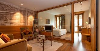 珍珠大酒店 - 潘普洛纳 - 客厅