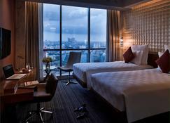 铂尔曼迦卡达中心公园酒店 - 雅加达 - 睡房