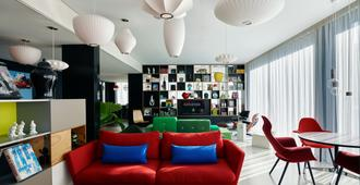 阿姆斯特丹世民酒店 - 阿姆斯特丹 - 休息厅