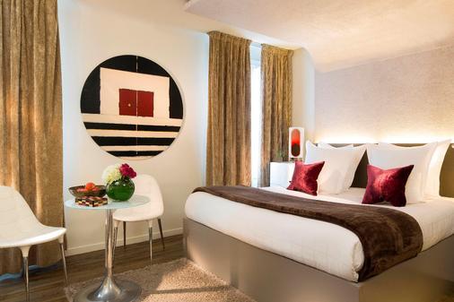 巴黎加布里埃尔酒店 - 巴黎 - 睡房