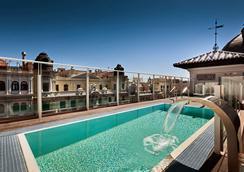 加泰罗尼亚格瑞万酒店 - 马德里 - 游泳池
