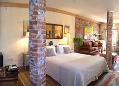 科洛尼亚套房公寓酒店 - 科洛尼亞德爾薩克拉門托 - 睡房