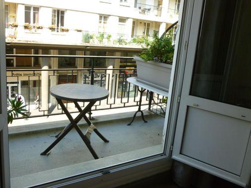 西奥特尔乐理查流酒店 - 勒阿弗尔 - 阳台