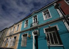 普埃尔塔埃斯科迪达住宿加早餐旅馆 - 瓦尔帕莱索 - 建筑