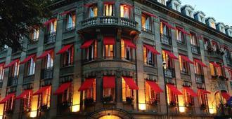 花园姆豪斯中央酒店 - 米卢斯 - 建筑