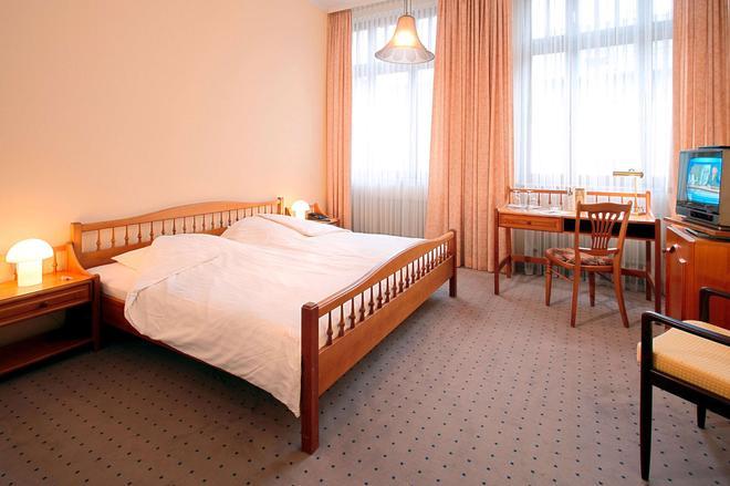 卡塞尔市中心温德姆特莱普酒店 - 卡塞尔 - 睡房