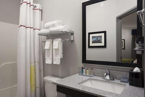温德姆圣安吉洛豪顿套房酒店 - 圣安杰罗 - 浴室
