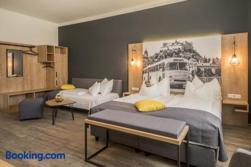 萨尔茨堡K6客房酒店 - 萨尔茨堡 - 睡房